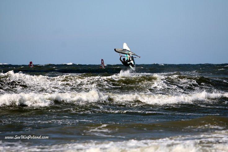 #windsurfing #sport #seaside #balticsea #ustka #baltic #polska #pomorskie #pomorze #pomerania #visitpoland #discoverpoland