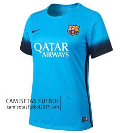 Tercera camiseta de Mujer Barcelona 2015 2016 | camisetas de futbol baratas