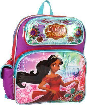 Disney Princess Elena of Avalor Toddler Mini 12' Backpack. #Disney #Princess #Elena #Avalor #Toddler #Mini #Backpack