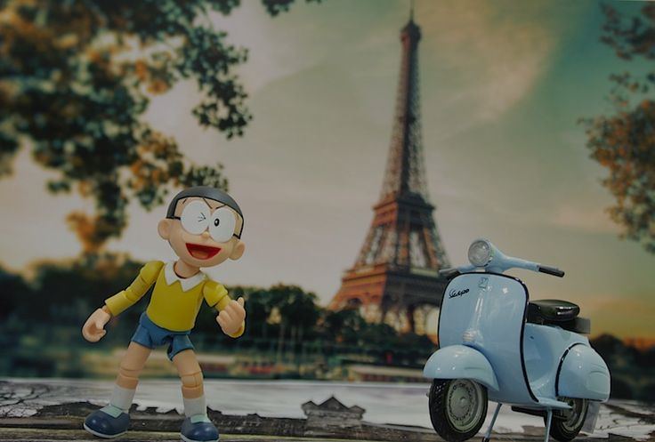 Nobita in paris
