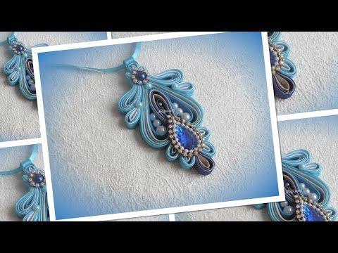Handmade necklace/Колье из косой бейки, своими руками/bias binding/МК/ DIY…