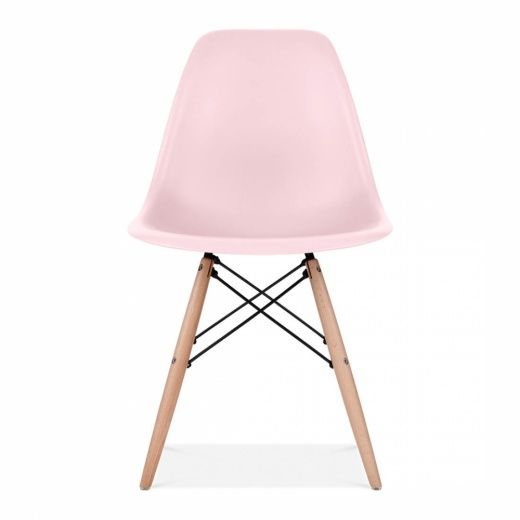 Charles Eames Style Pastel Pink DSW Chair | Dining Chairs | Cult UK