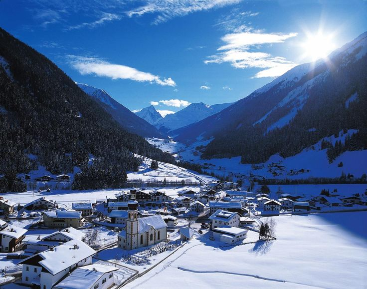 Los 10 pueblos más bonitos de Austria :Gries im Sellrain
