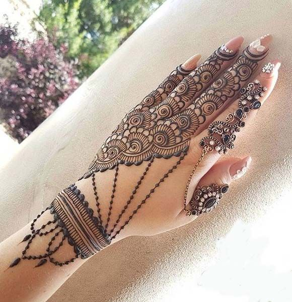 Another gorgeous Mehndi Design Look