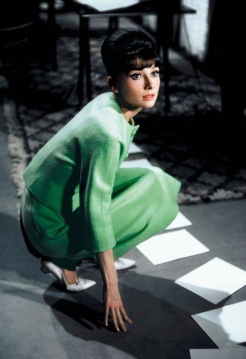 Hubert de Givenchy received a scent credit for Audrey Hepburn's perfume in Paris When It Sizzles, the first such credit in film history