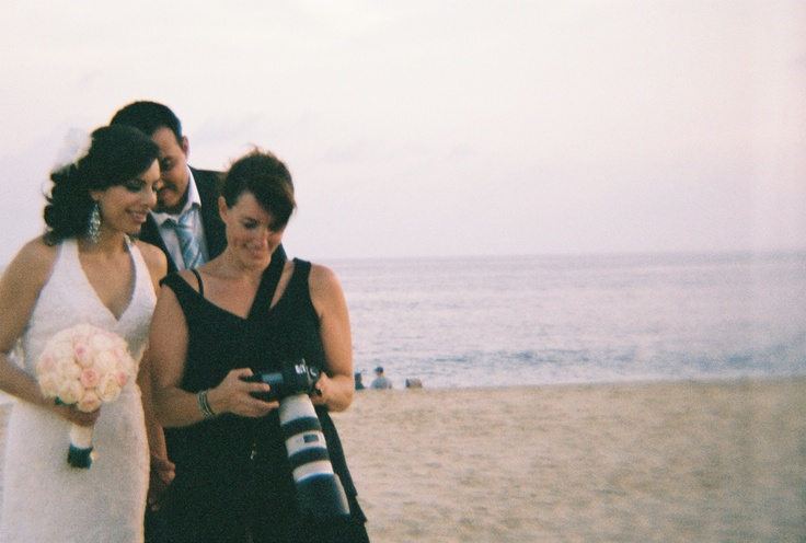 35mm film photo with the Diana + [Lomography]  by Tere Jeache   at Melina and Will's wedding.
