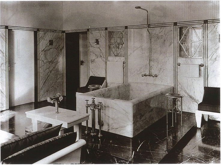 1930 39 s bathroom making a splash pinterest vintage for Bathroom design 1930 s home