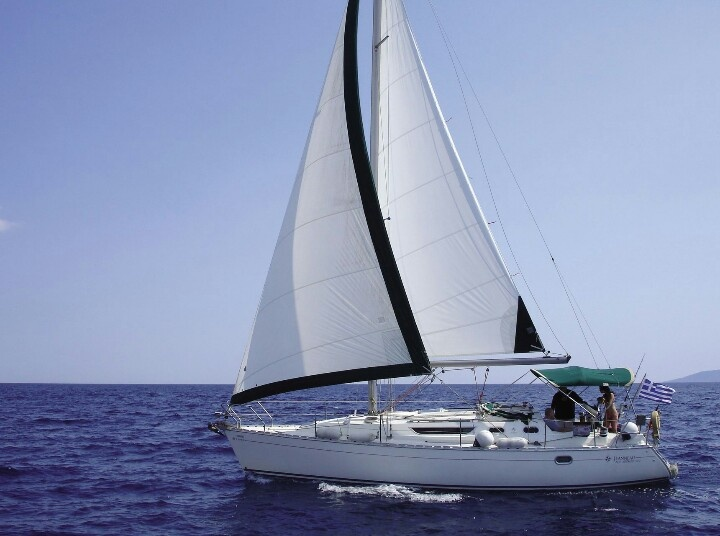 """Bachelorette party on """"Thetis"""". Party on a sailing boat. www.charterayacht.gr"""