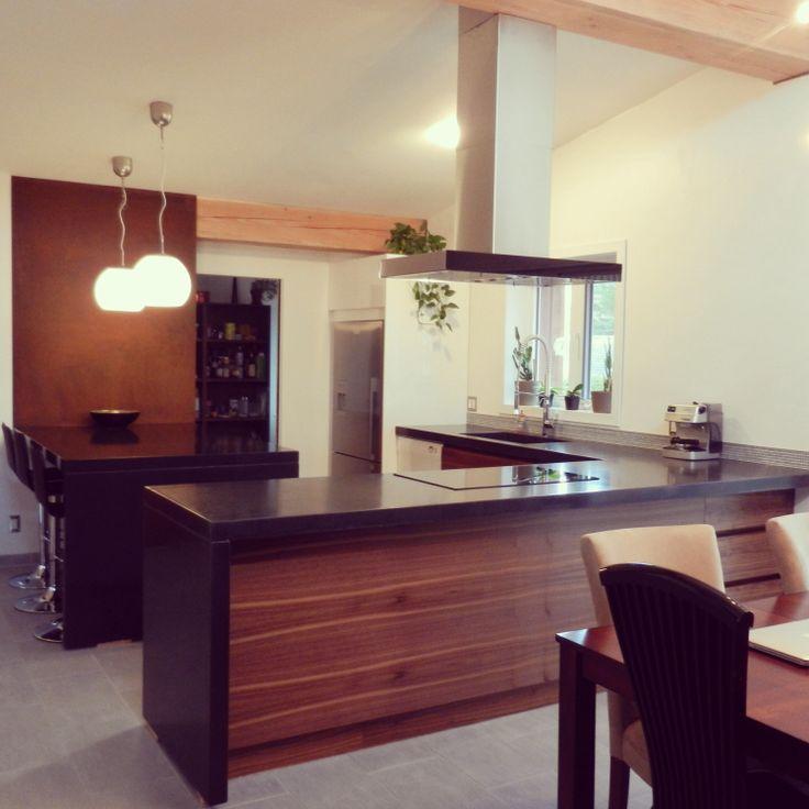 17 meilleures id es propos de comptoirs de cuisine en - Cuisine ouverte avec comptoir ...