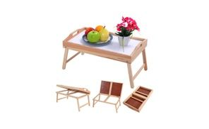 Groupon - New Romantic Bed Breakfast Laptop Desk Food Serving Hospital Table. Groupon deal price: $36.50