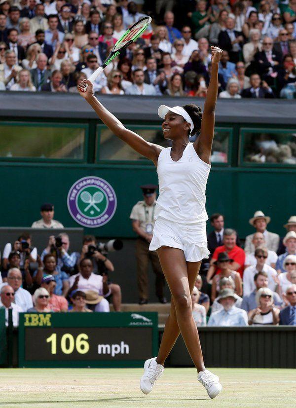 Venus Williams Defying Age and Skeptics Reaches Wimbledon Final
