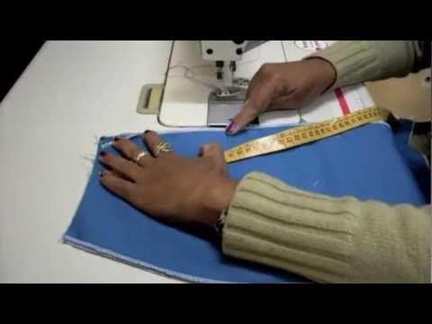 Aula 1.5 Costura de zíper invisível - Atelier Edna Luz - Curso Saia Reta
