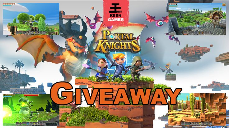 Win Portal Knights made by Keen Games. A truly unique adventure game that combines elements from Minecraft, Terraria, and The Legend of Zelda while adding its own creative twist to the genre.
