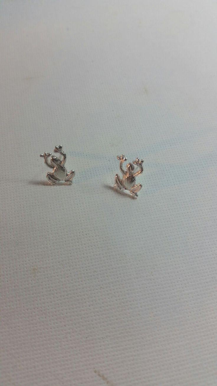 ranas pmc de plata - a partir de molde de borrador-