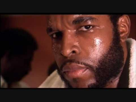 """I pity the fool!"" Clubber Lang (played by Mr. T) when asked about Rocky Balboa before their rematch. Quoted on ESPN's Around the Horn."