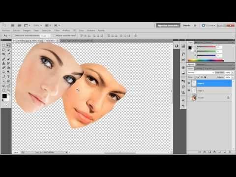 Curso fundamental de Photoshop CS6: Capas de ajuste y Máscaras - YouTube
