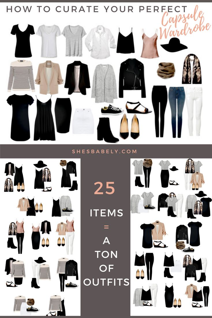 80 Best Capsule Wardrobe Essentials