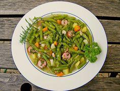 Leckere grüne Bohnensuppe, ein gutes Rezept aus der Kategorie Kochen. Bewertungen: 26. Durchschnitt: Ø 4,1.