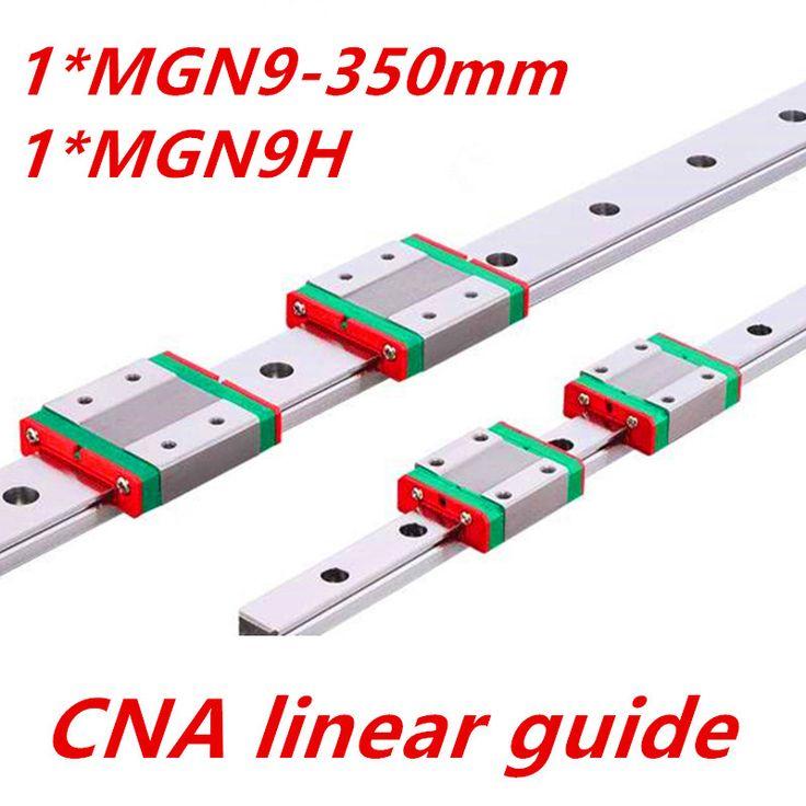 <b>9mm Linear Guide</b> MGN9 350mm <b>linear rail</b> way + MGN9H Long ...