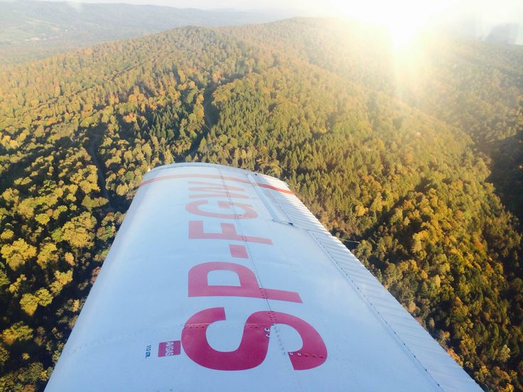 SkyJet Bieszczady scenic flights. Bird's eye view of the beautiful patchwork landscape. Absorb breathtaking aerial views. SkyJet: We live to make the impossible POSSIBLE. www.skyjet.pl