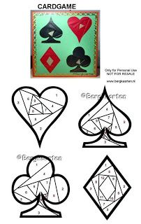 Card Game Iris Fold
