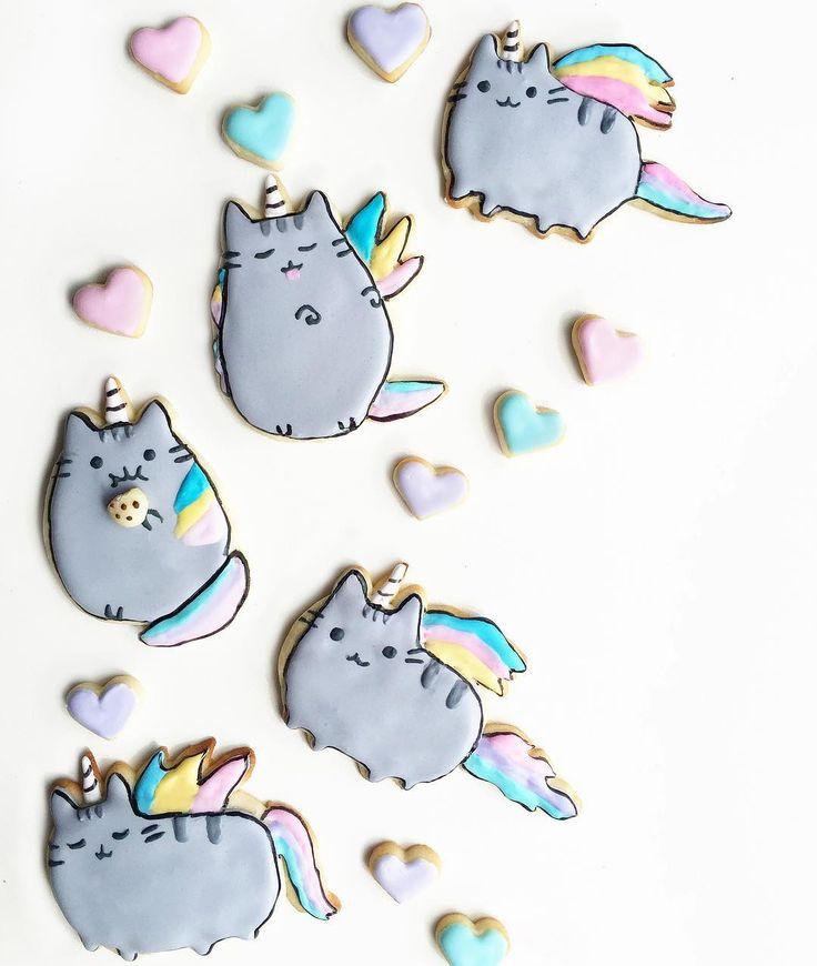 Картинки кот пушин радуга