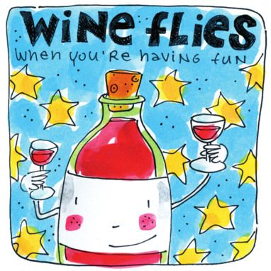 Wine flies, when you having fun - Blond Amsterdam