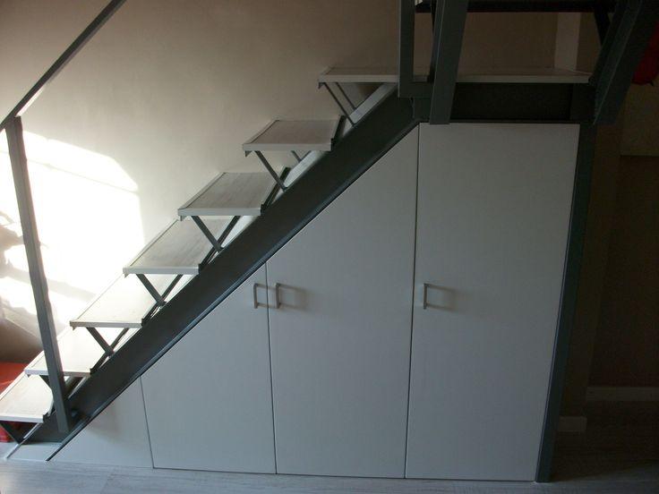 18 best images about armarios empotrados on pinterest - Armario bajo escalera ...