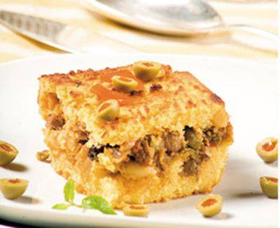 #Polenta criolla con guiso de cochino #Estampas #RecetasEstampas #CocinaYSabor