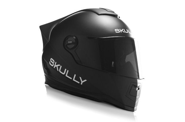 """Meet the Skully AR-1, """"The World's Smartest Motorcycle Helmet."""" It's raised over $1m in funding on Indiegogo in less than one week."""