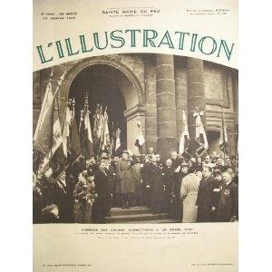 L'Illustration - n°4950 - 15/01/1938 - Hommage des anciens combattants au général Gouraud [magazine mis en vente par Presse-Mémoire]