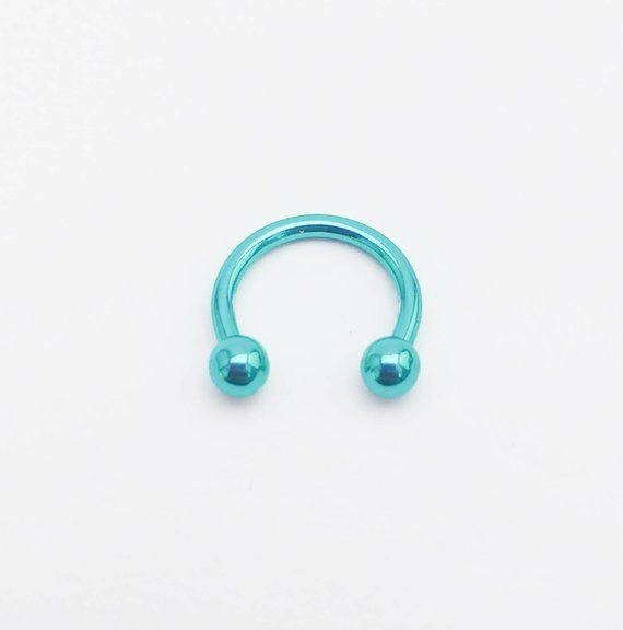 Ball Horseshoe-Eyebrow Ring-Eyebrow Jewelry-Circular Barbell Earring-Daith Internal Helix-Tragus-Septum Horseshoe-Lip Ring-Piercing