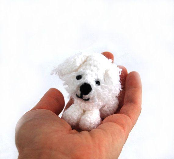 $36.32 Maltese puppy, #dog of Malta, short haired Maltese pup, withe Tibetan #terrier, Melita puppy, collectible dog, miniature Maltese #puppy