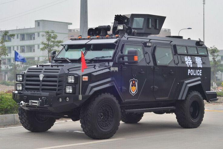 Китайская полиция вооружилась новейшими бронеавтомобилями Sabertooth, похожими на машины, выпускаемые Кременчугским автозаводом. Название машині переводится как «Саблезубый тигр». Помимо внешнего сходства с машиной КрАЗ «Спартан» достаточно посмотреть на рубленные формы кузова – китайский аналог имеет и почти такую же начинку.