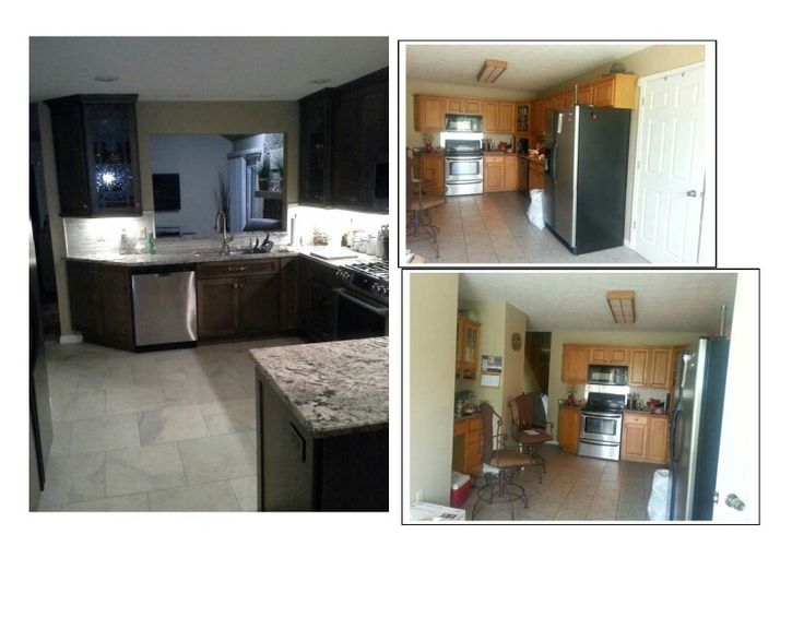 Kitchen Remodel, Pass Through Added