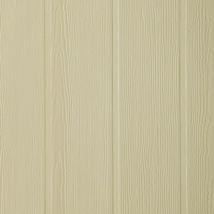 James Hardie HardiePanel Primed Woodgrain Vertical Fiber Cement Siding Panel (Actual: 0.312-in x 48-in x 96-in)