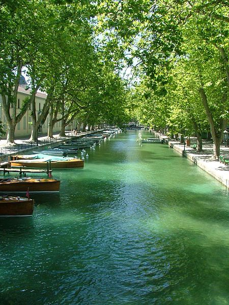 View of Annecy, France