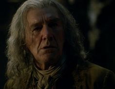 Clive Russell as Jamie's grandfather, LORD LOVAT.