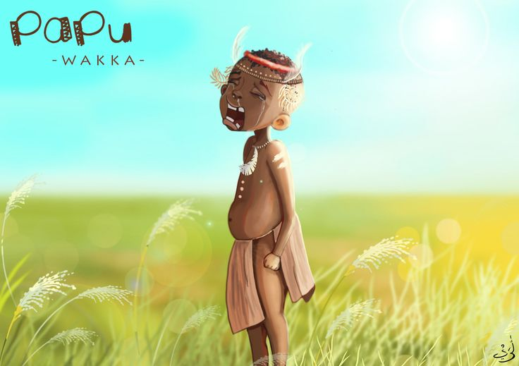 "PAPU""S LITLE BROTHER  #PAPU #CHARACTER #BOY #ART"