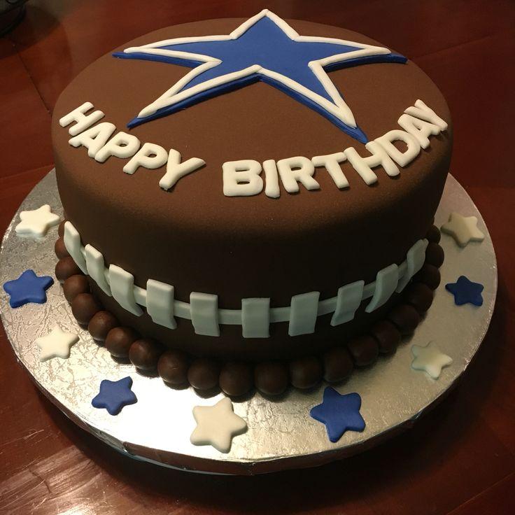 Dallas Cowboys Birthday Cake, Cowboy