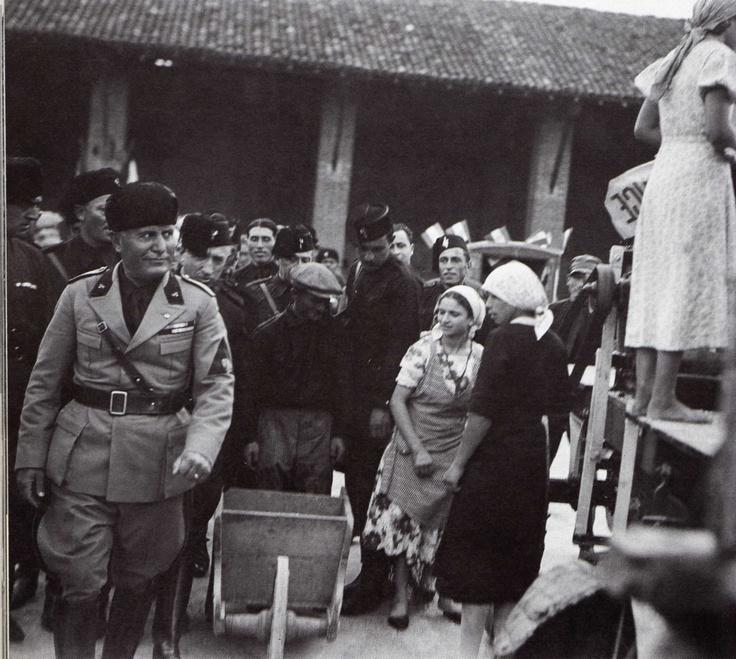 Benito Mussolini Milano 3 ottobre 1934