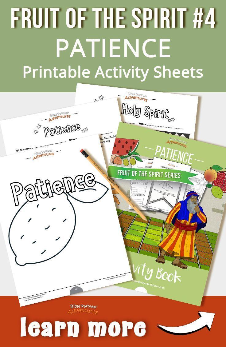 Patience Fruit Of The Spirit Activity Book Lesson Plan Book Activities Fruit Of The Spirit Creative Writing Activities [ 1128 x 736 Pixel ]