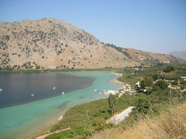 Η ''στοιχειωμένη'' λίμνη της Κρήτης