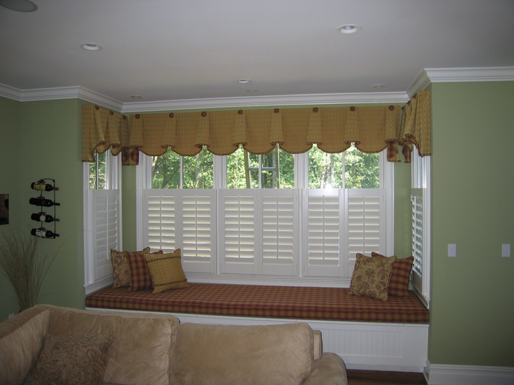 Cafe Or Bottom Half Shutters Shutters With Curtains