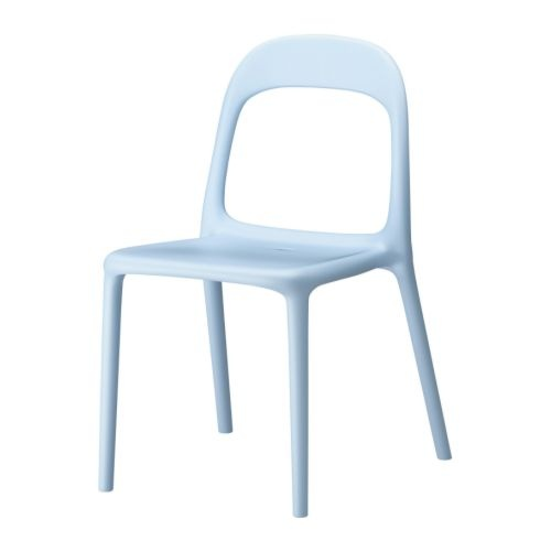 URBAN Stol - lyseblå - IKEA
