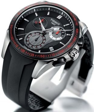 Tissot Veloci-T Watch I want this watch, maybe someone will buy this.