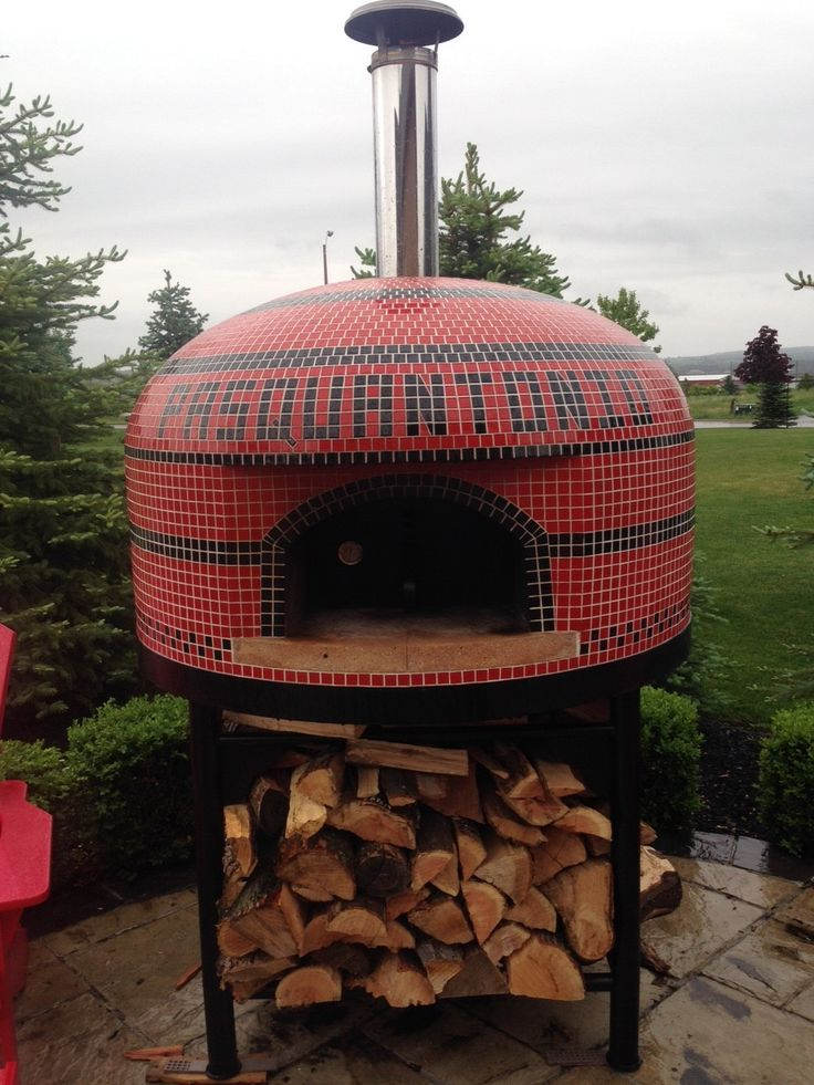 Vesuvio with custom name from Outdoor Pizza Ovens in Canada