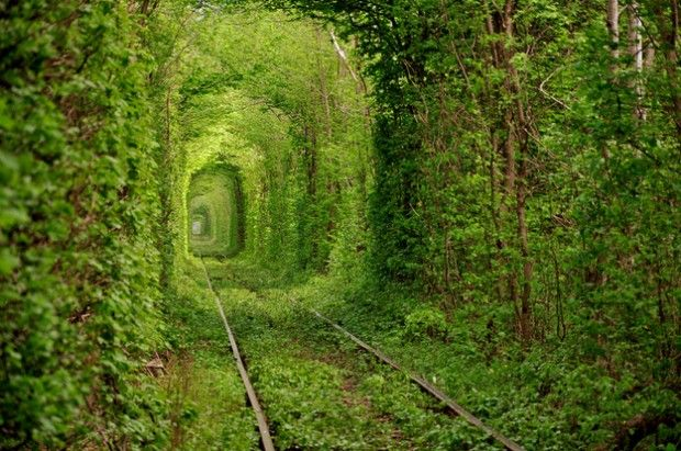 Tunnel of Love – Kleven, Ukraine - 25 Unreal Destinations, that Actually Exist