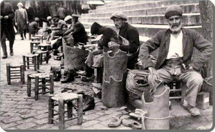 Kunduracilar Eminönü 1930'lar