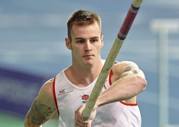 Luke Cutts - pole vault.